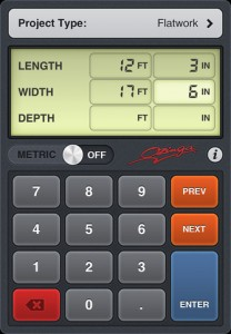 concrete calculators