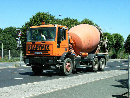 Readymix concrete available from concrete suppliers