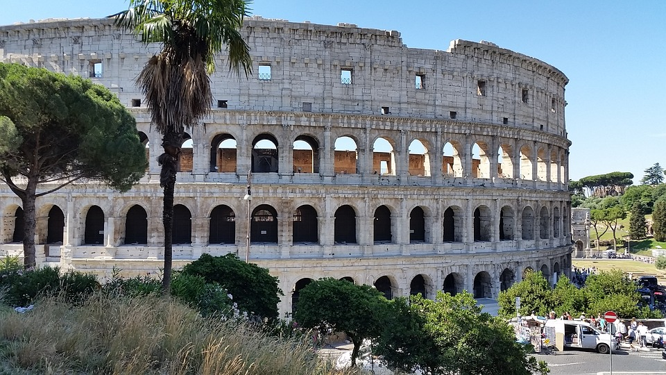 The Romans were some of the earliest concrete contractors, using their special mix of concrete to build structures like the Coliseum.