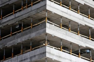Multi level concrete structure